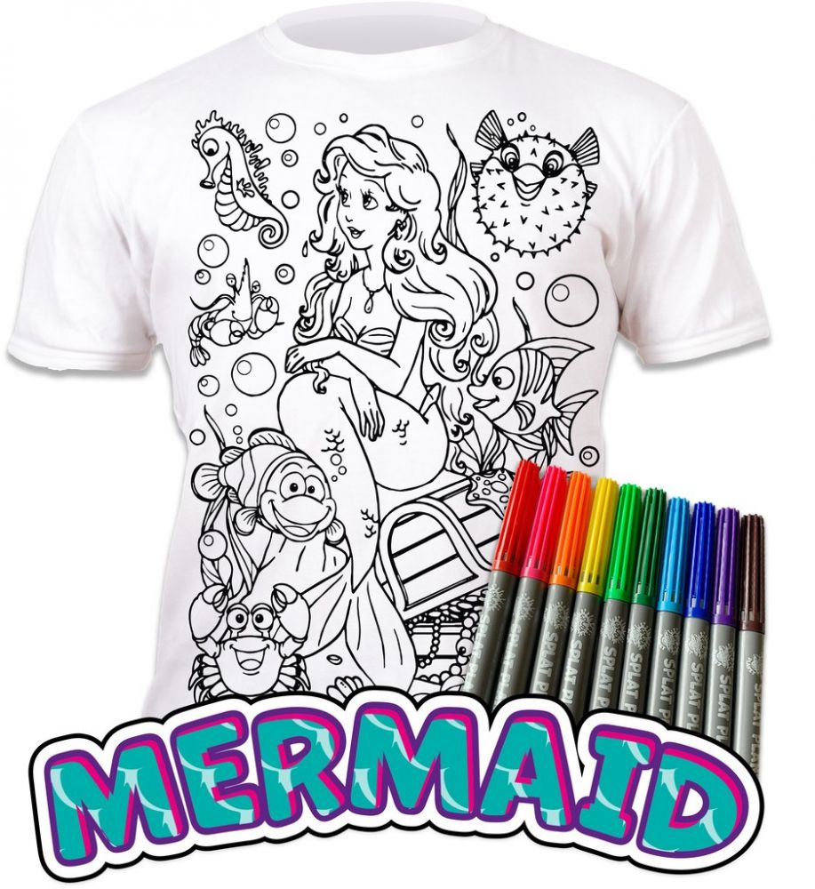 Splat T-shirt - Mermaids