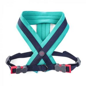 Uber-Activ Padded Dog Harness - Navy